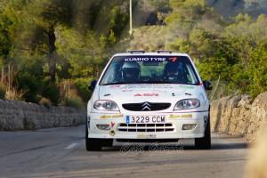 Ángel Verger se destaca en el Rallyesprint de L'Afició