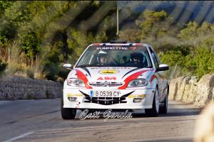 Ángel Verger se impone en el Rallyesprint Mitja Illa