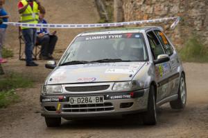 Pleno de Ignacio Braña en el Rallye Princesa de Asturias