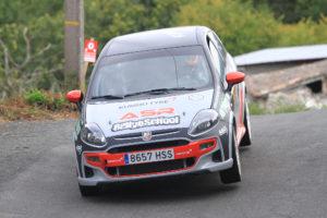 Buen papel de Prada y Lamela en el Rallye Ribeira Sacra