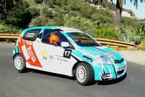 Basilio Hernández segundo en el arranque de la copa Toyota ENMA 2RM de Las Palmas