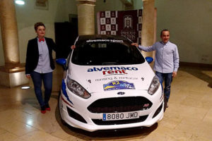 Nacho Braña estrena en Tineo el Ford Fiesta R2T