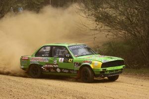 Gran actuación de Esteban Pérez en el Rallymix de Touro