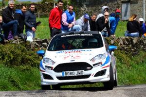 Gran actuación de Braña y Menéndez en el Rallye de La Espina
