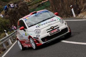Jonathan Nuez saborea el podio en el Rallye Islas Canarias