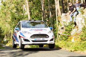 Nacho Braña sobrevive al Rallye de Ferrol