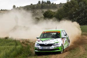 Kevin Guerra manda en la segunda cita del Desafío Kumho N3 Rallye Cup