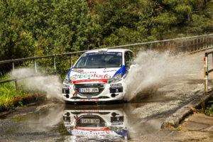 Gran Rallye sin recompensa para Diego Félix en Ourense