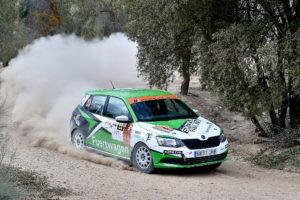 El Desafío Kumho N3 Rallye Cup afrontó una dura prueba en Granada